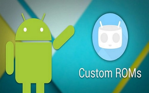 download a custom rom