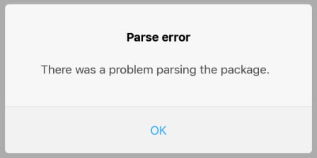 there-was-a-problem-parsing-the-package