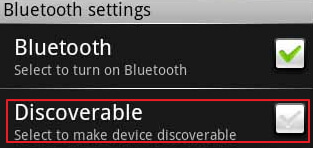 turn-on-discoverable-feature
