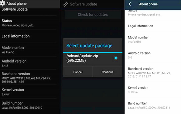 update-android-with-upgrade-package