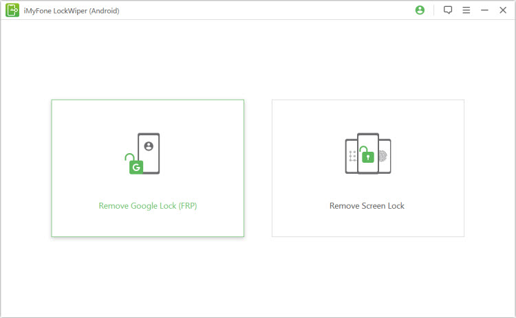start to remove Google lock (FRP)
