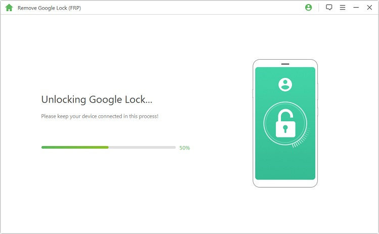 start the google account removal process