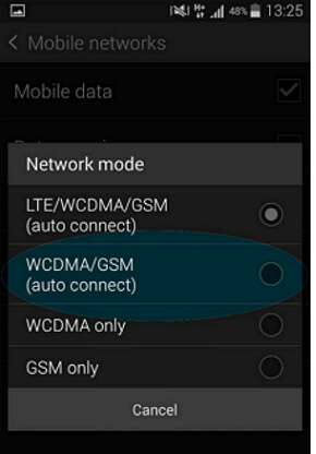 check network mode