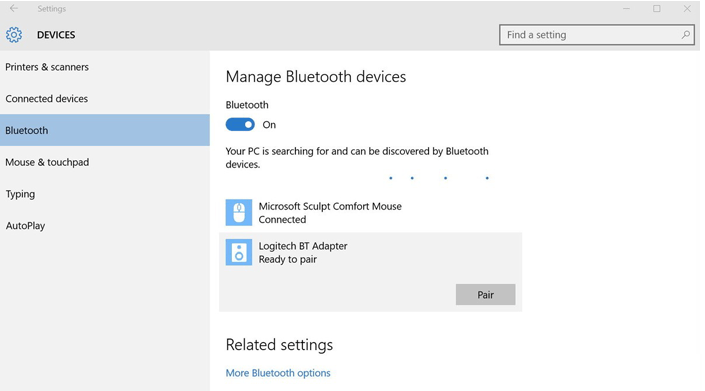 backup android contacts to pc with bluetooth step 1