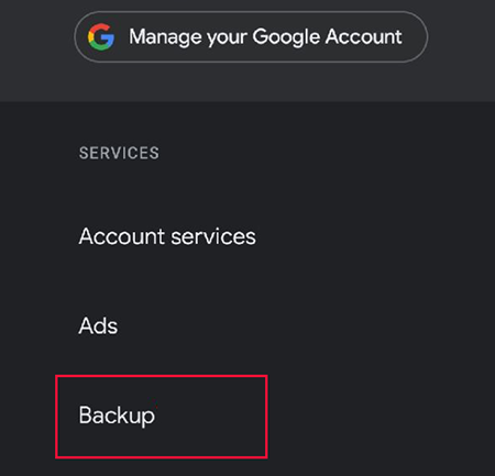 backup sms on google drive