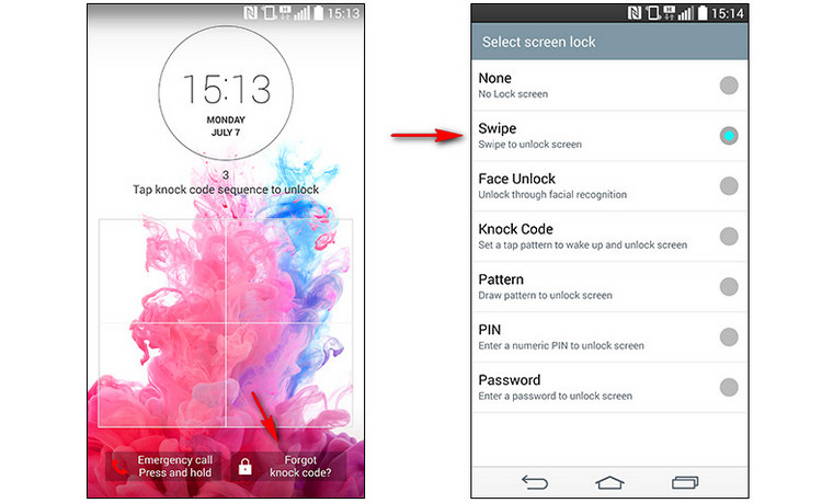 4 Effective Solutions to Bypass Lock Code on LG Phone