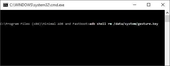 Type command in cmd.exe