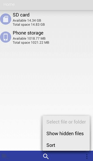 default file manager