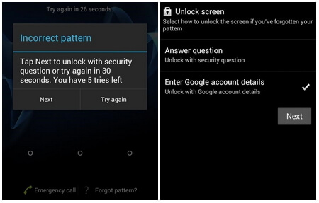 bypass android pattern