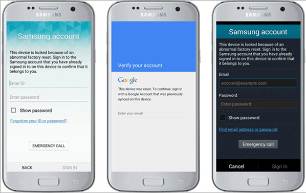 samsung reactivation frp lock removal service