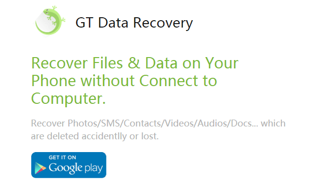 recover deleted kik messages using GT Recovery