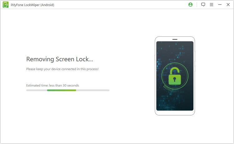 Remove lock code on LG phone with LockWiper(Android)