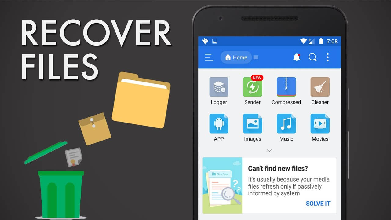 how to recover deleted files on android phone internal memory