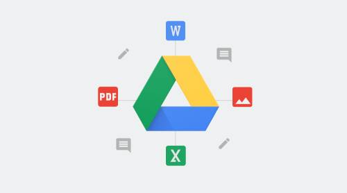 restore pdf from google drive