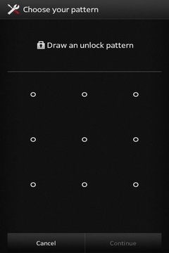 reset Android screen lock pattern