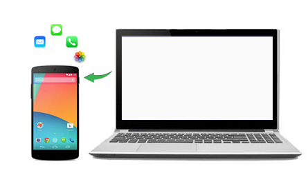 restore android data on pc