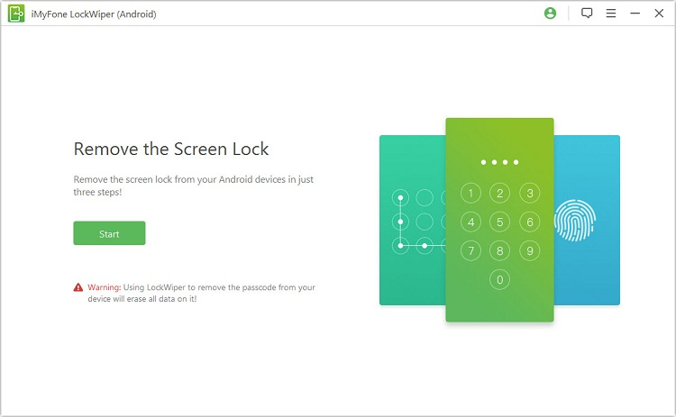 LockWiper android screenshot